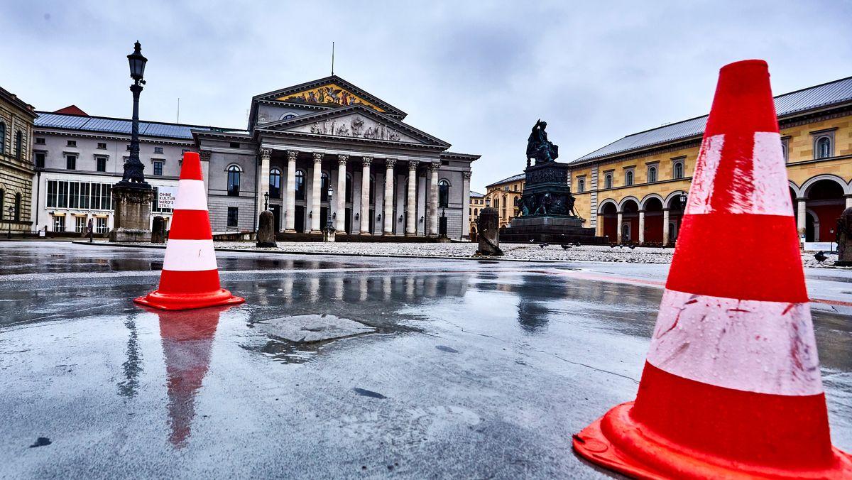 Die bayerische Staatsoper in München