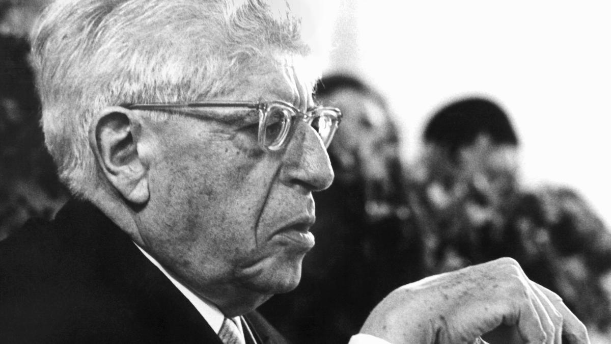 Der Philosoph Ernst Bloch