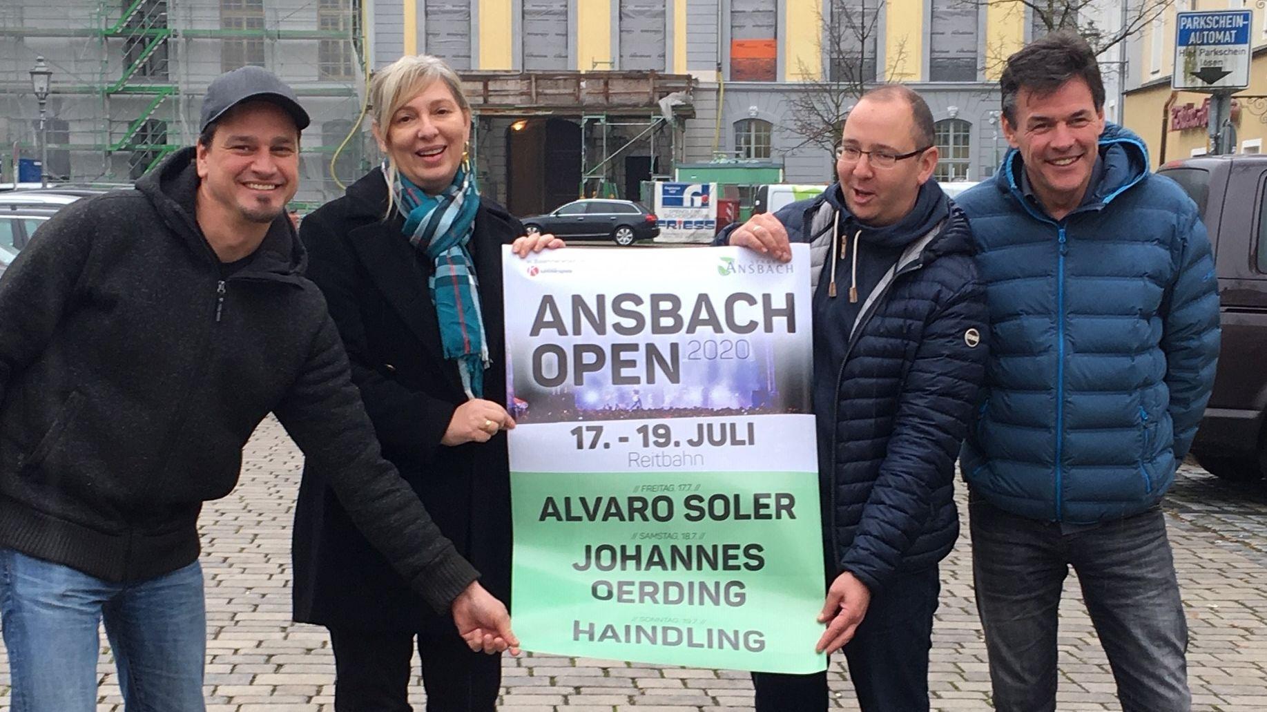Ansbach Open 2020: Open-Air-Konzerte mit Alvaro Soler, Johannes Oerding und Haindling
