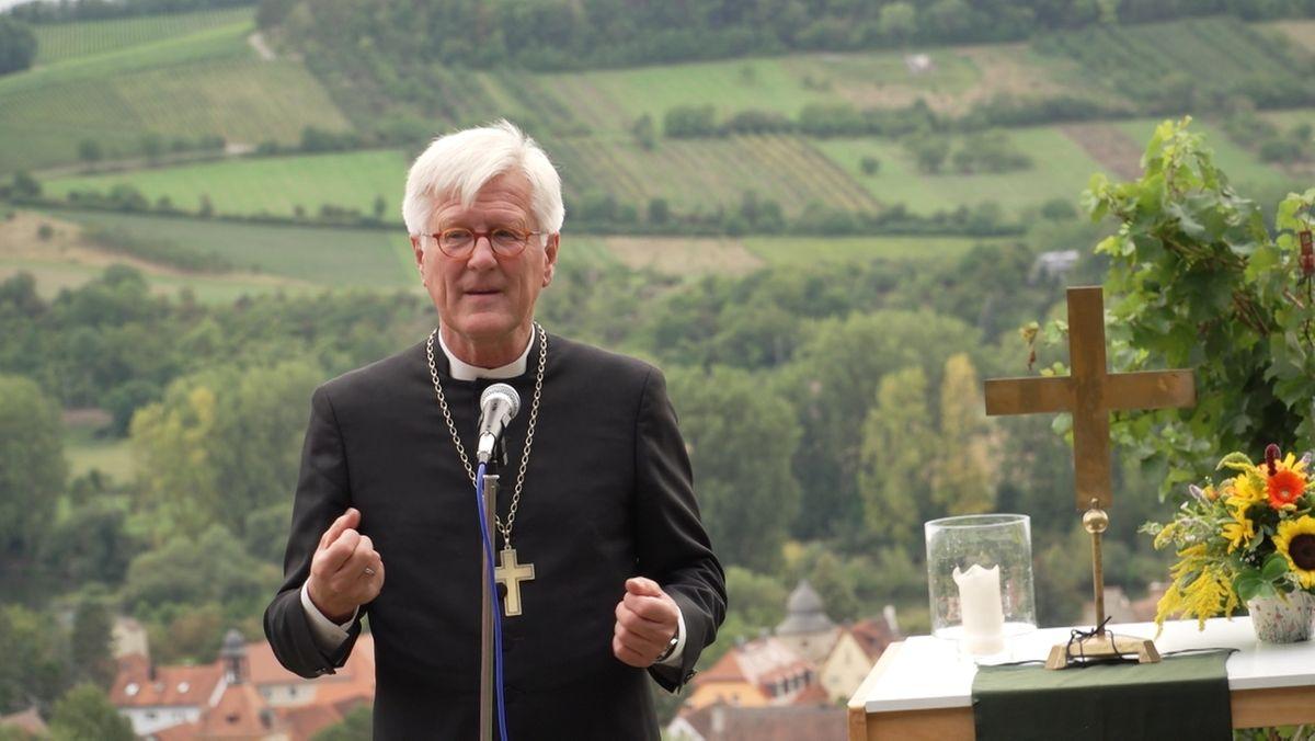 Landesbischof Bedford-Strohm in Sommerhausen