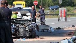 Geisterfahrer-Unfall mit Reisebus auf der A73 | Bild:Daniel Kahrmann/dpa