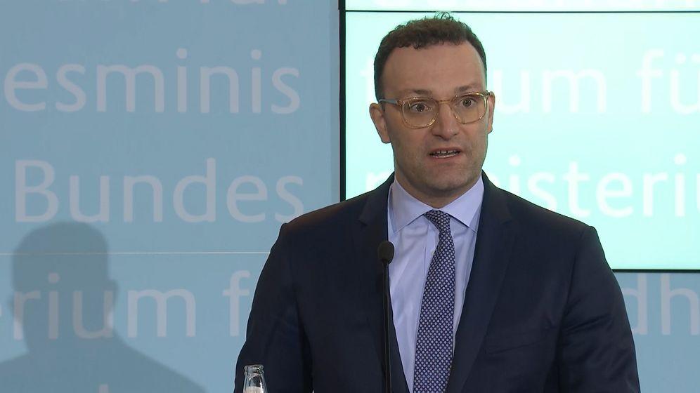 Bundesgesundheitsminister Jens Spahn. | Bild:BR