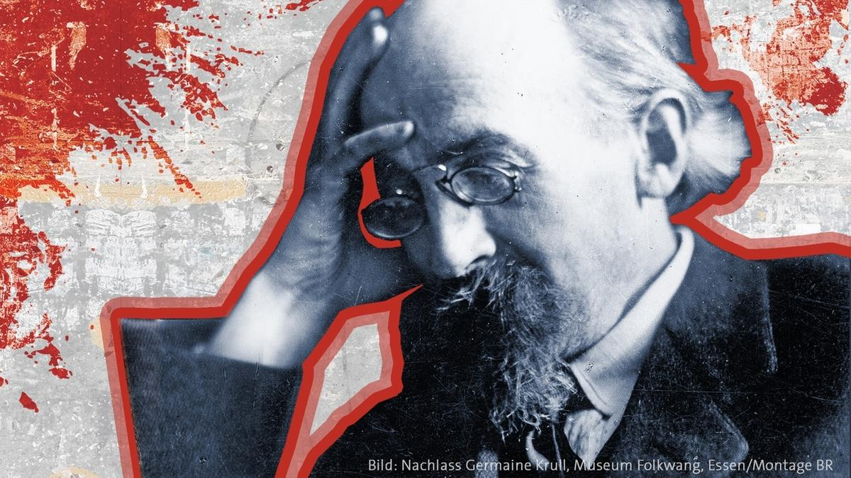 """Plakat zum Projekt """"Ich, Eisner! 100 Jahre Revolution in Bayern"""""""