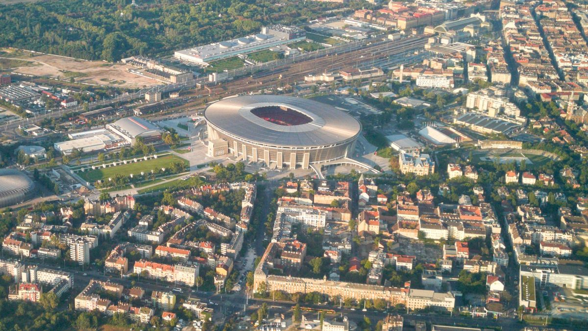 Puskás Arena in Budapest