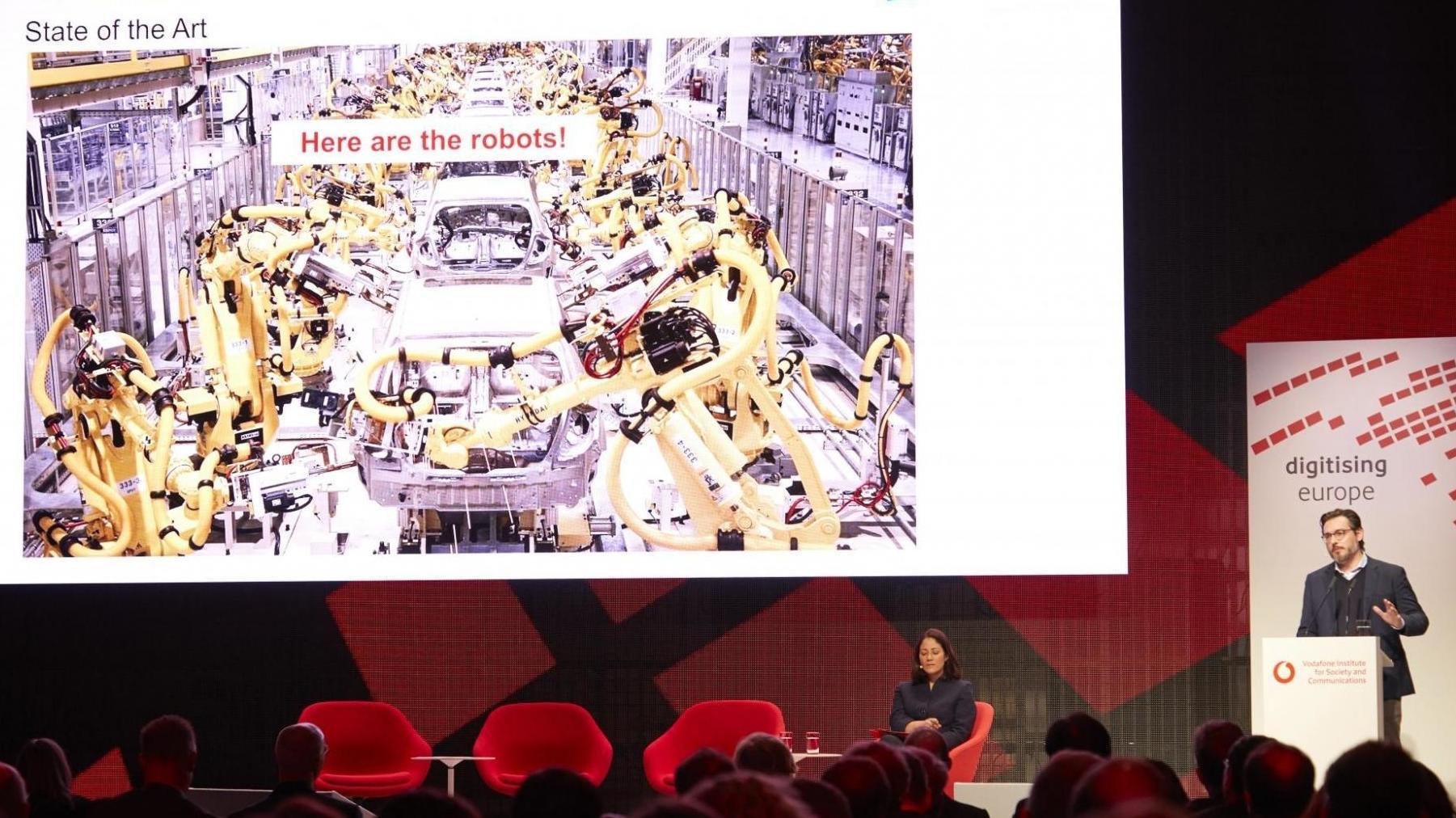 Digital-Gipfel des Vodafone-Instituts