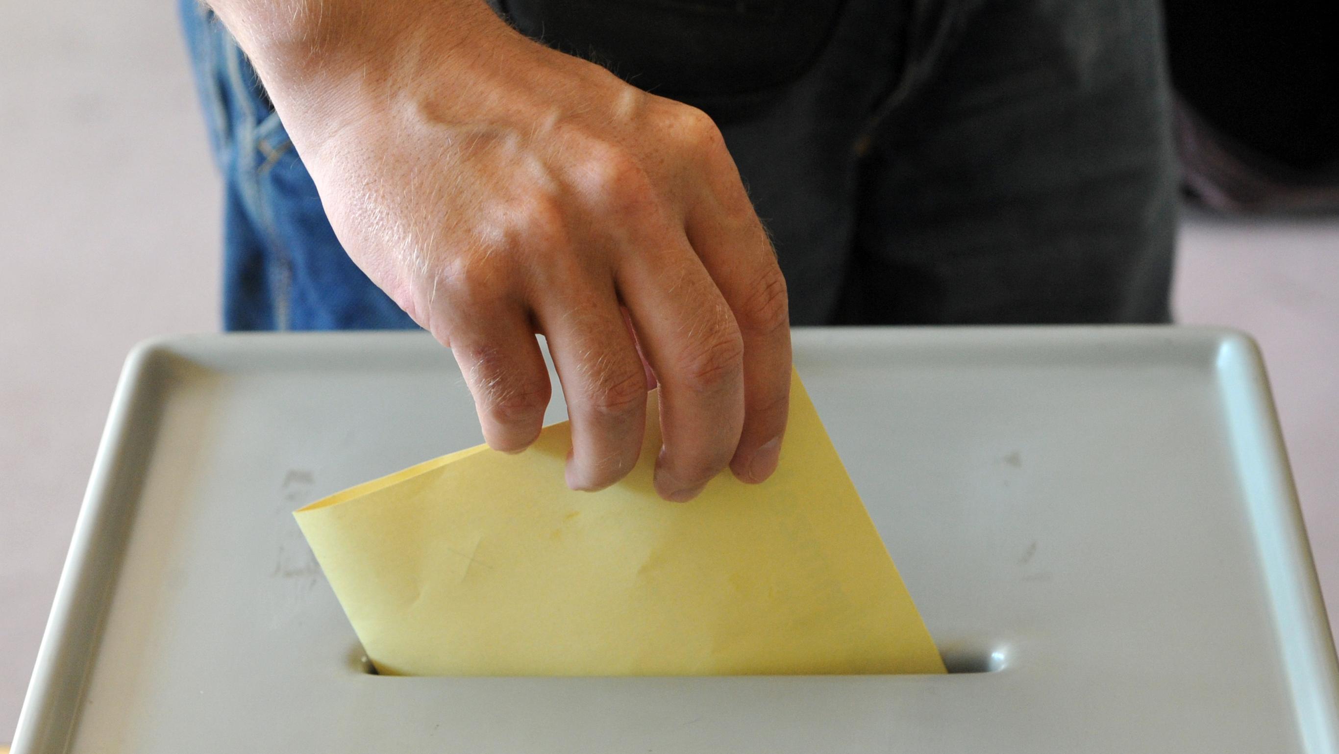 Wahlurne (Symbolbild)