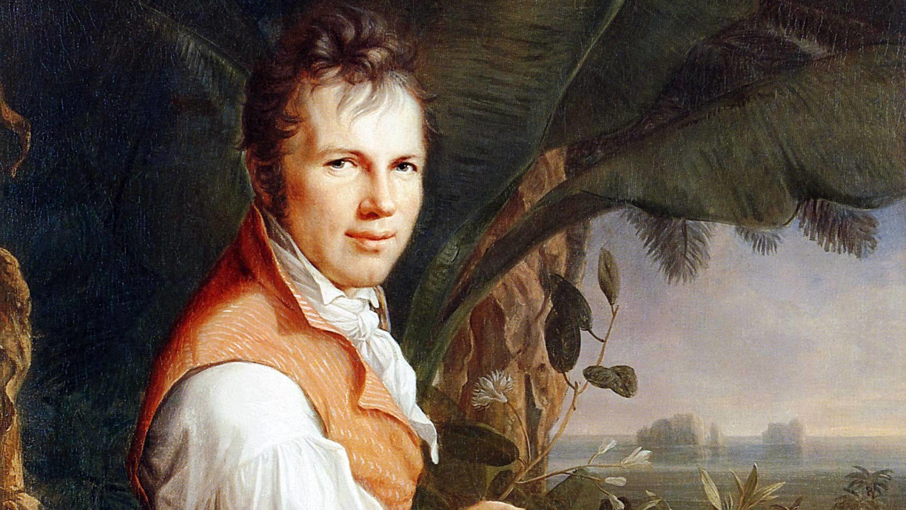 Alexander von Humboldt als junger Mann