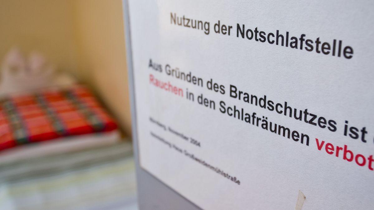 Die kalten Nächte setzen den Nürnberger Obdachlosen zu.