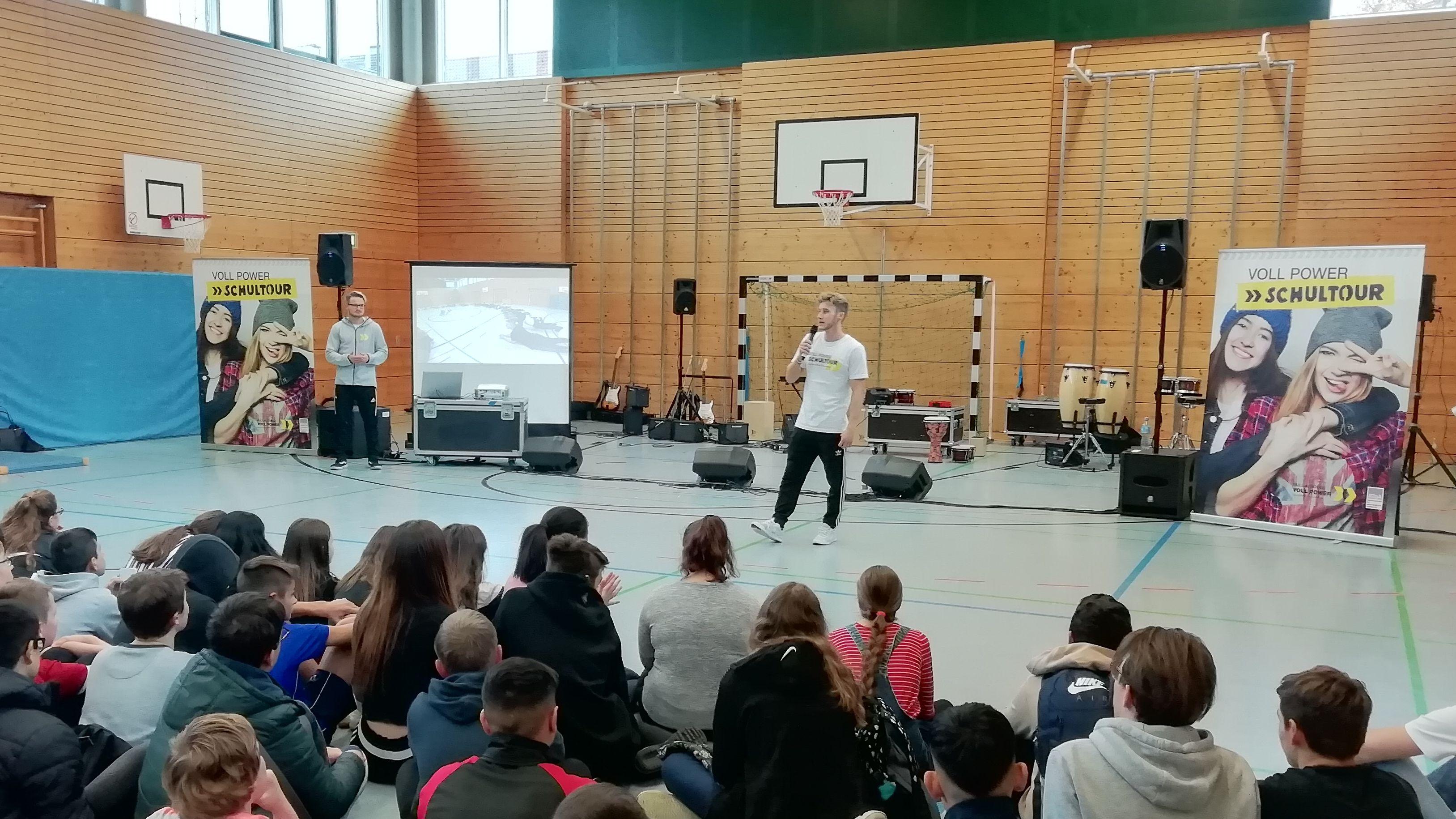 Aktionstag gegen Alkohol an Aschaffenburger Mittelschule