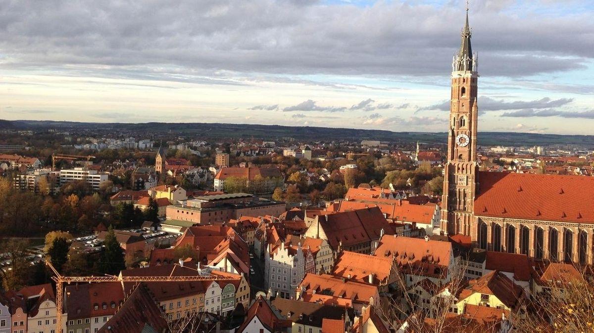 Die niederbayerische Hauptstadt Landshut