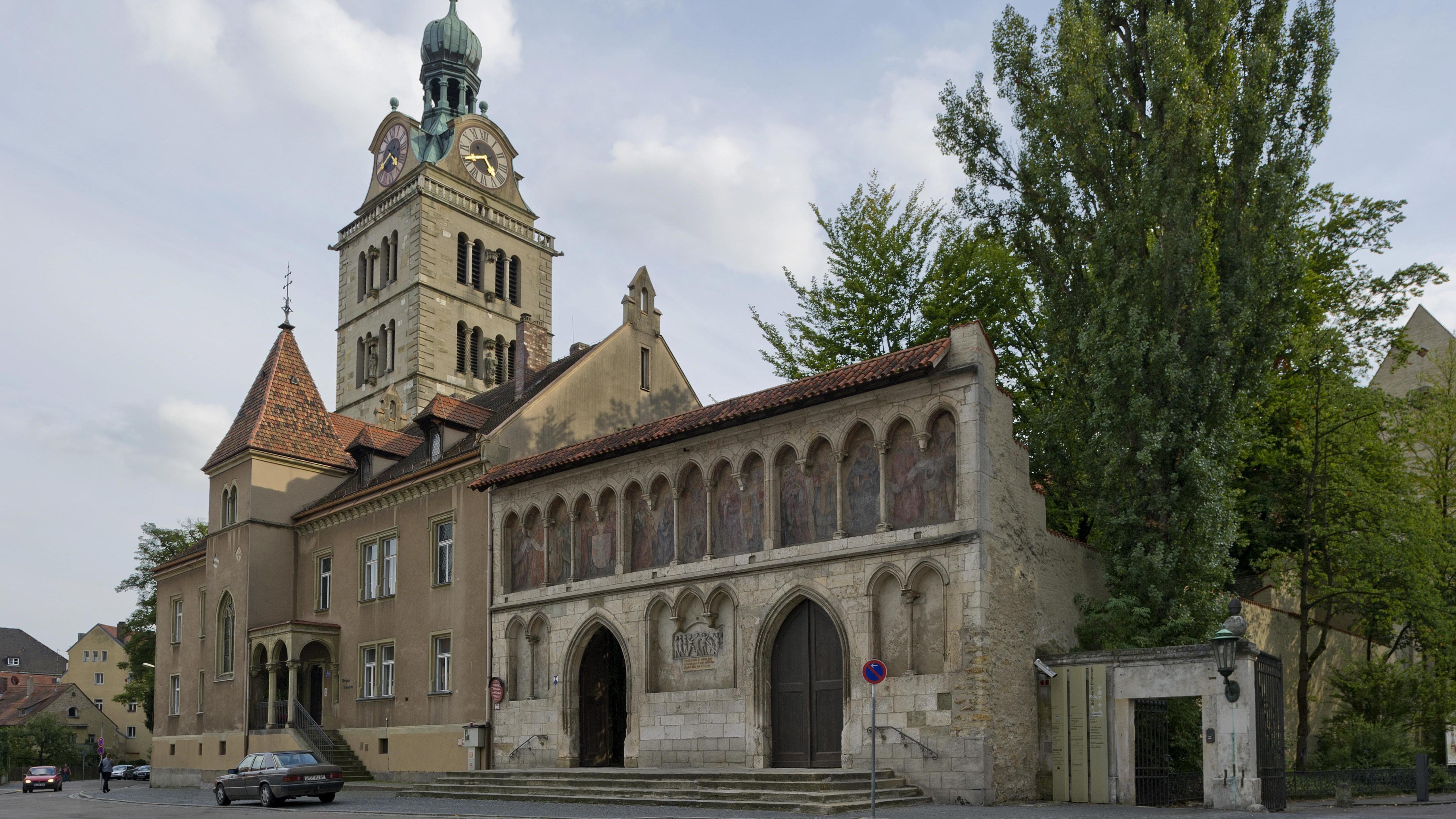 Die Basilika St. Emmeram in Regensburg