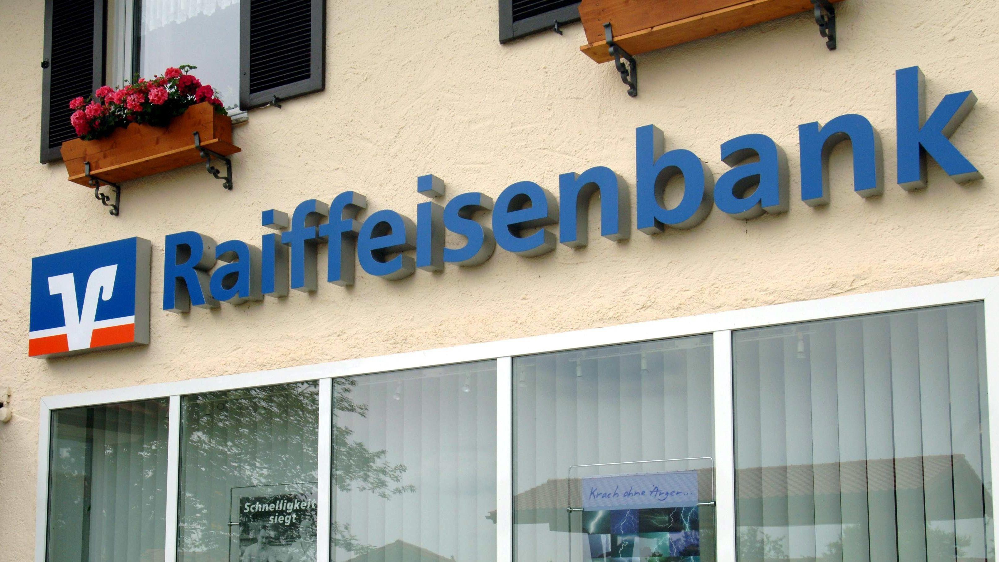 Filiale der Raiffeisenbank (Symbolbild)