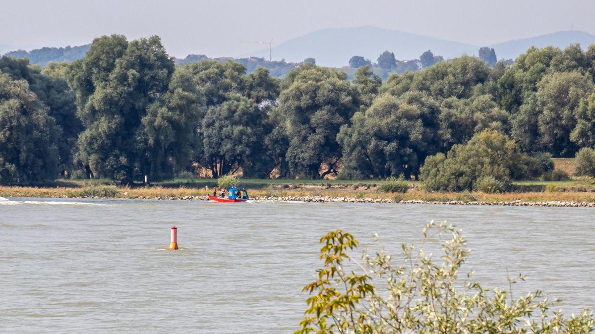 Die Unglücksstelle an der Donau