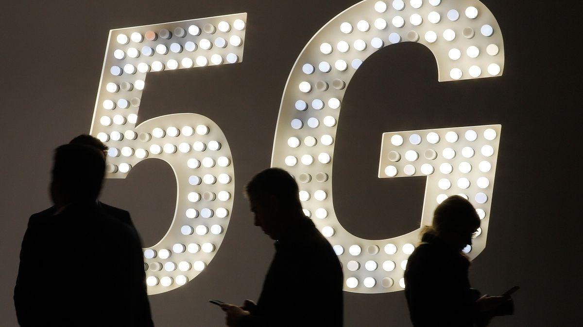 5G Werbetafel