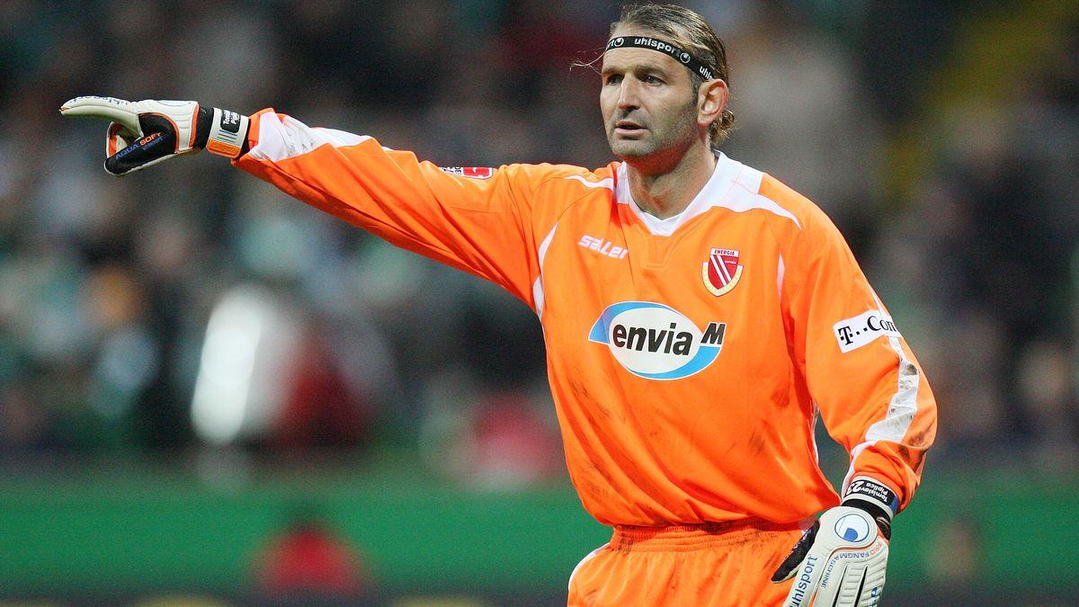 Tomislav Piplica im Trikot von Energie Cottbus bei einem Spiel während der Saison 2006/2007