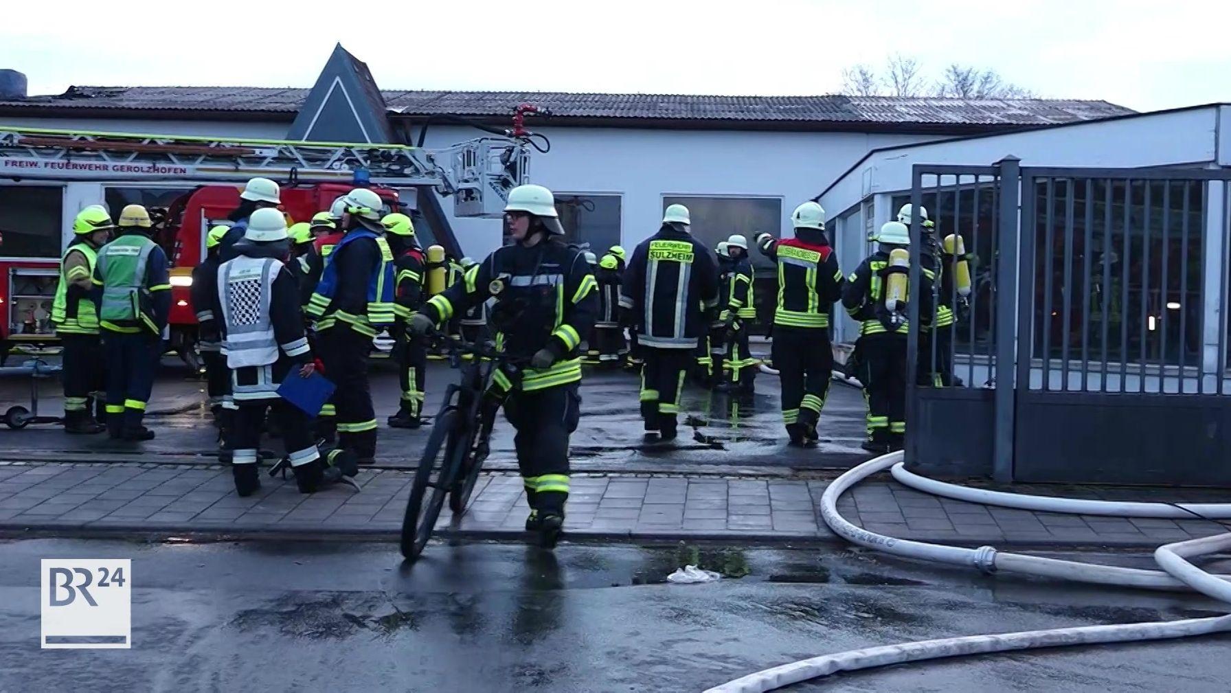 Brand in Gerolzhofen
