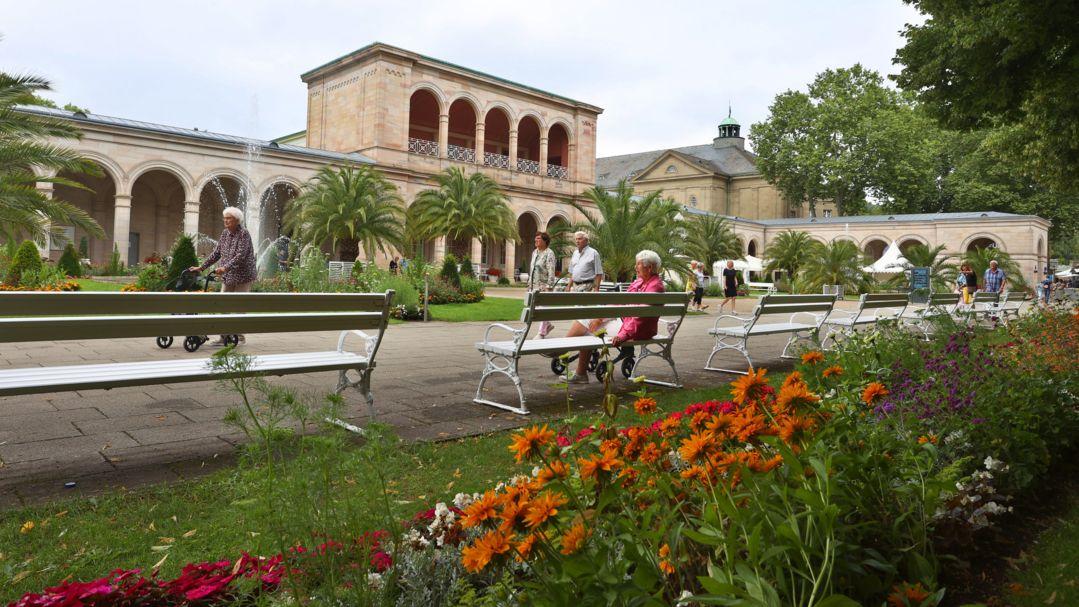 In Bad Kissingen liegt der Inzidenzwert am Sonntag über 35.
