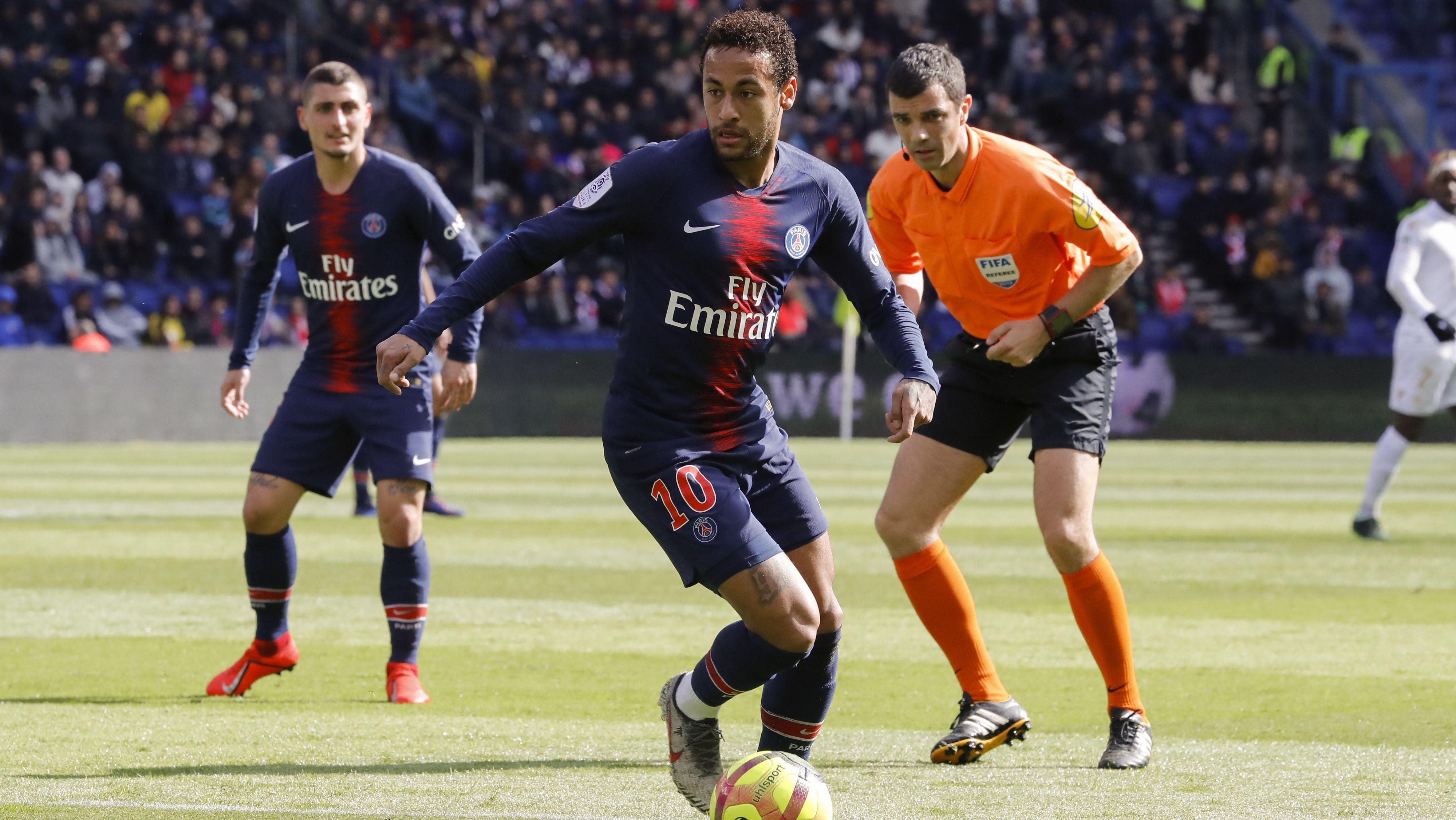 Neymar von Paris Saint Germain