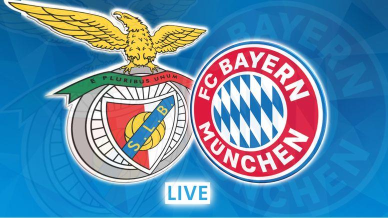 Benefica Lissabon - FC Bayern München   Bild:BR24 Sport
