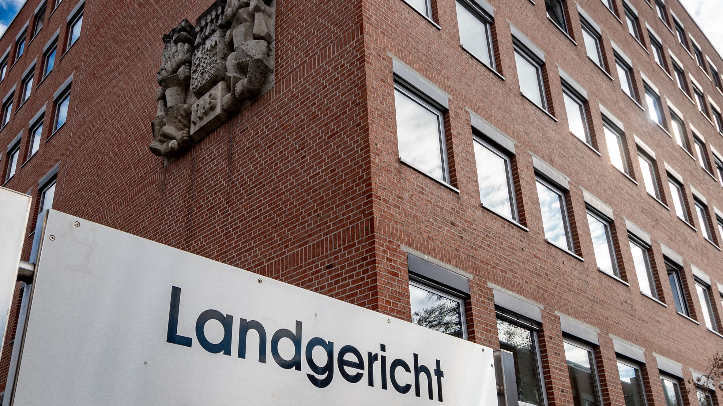 Das Landgericht Landshut von außen