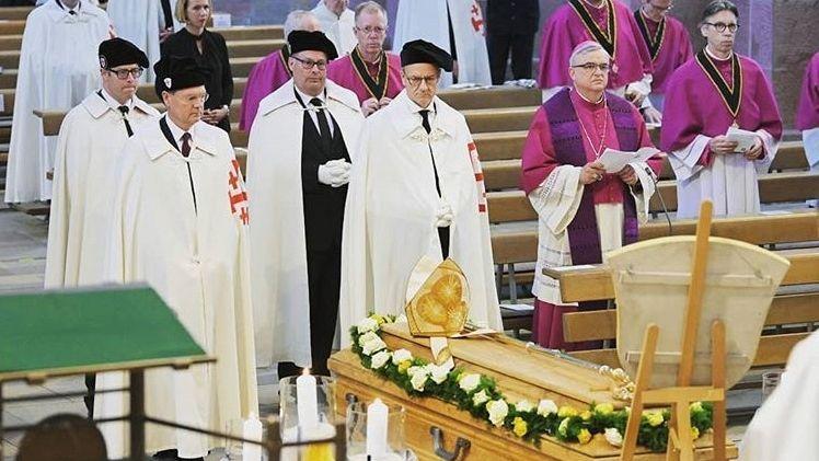 Beisetzung von Anton Schlemmbach im Dom zu Speyer
