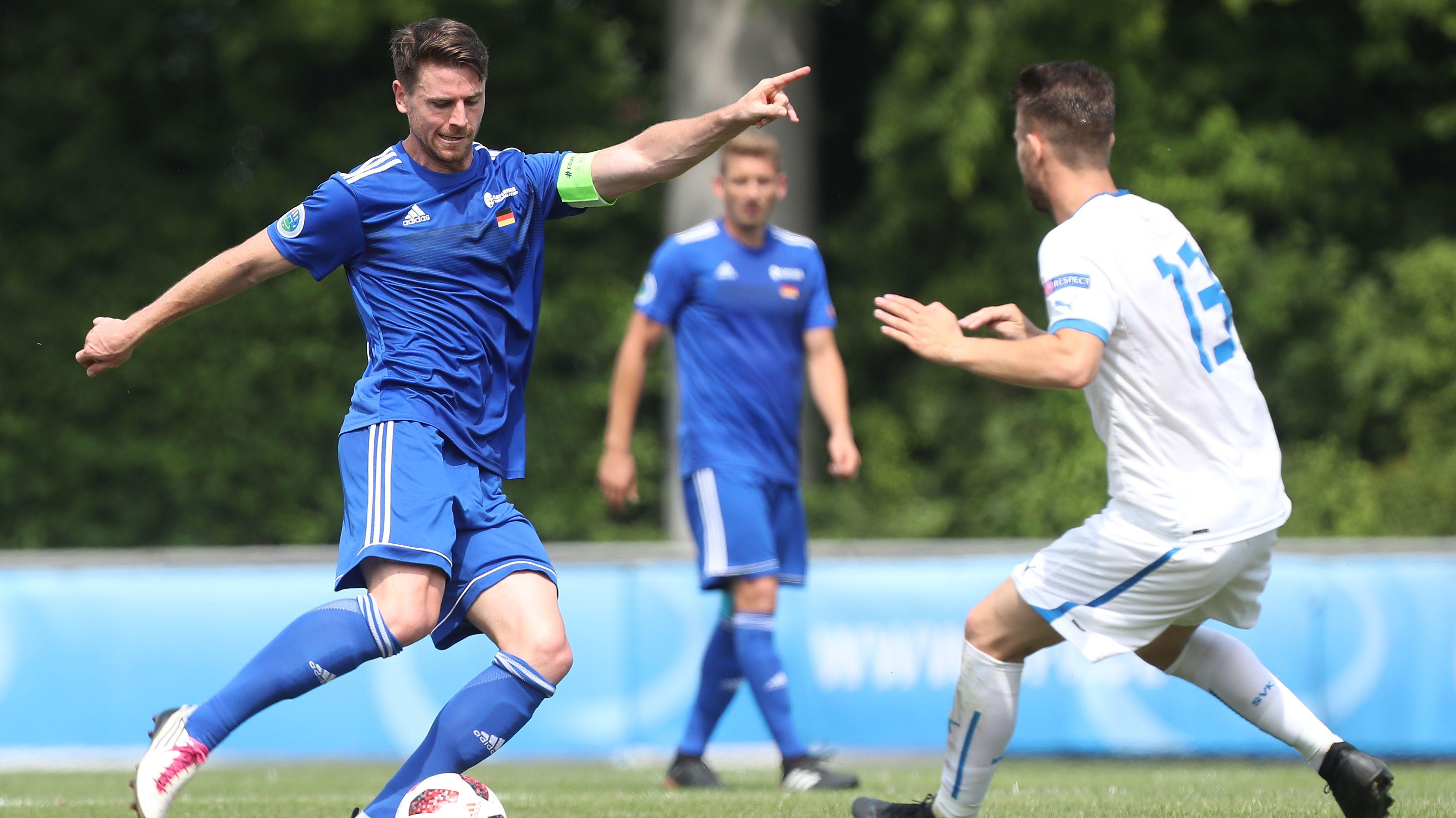 UEFA Regions Cup: Spielszene Bayern - Westslowakei