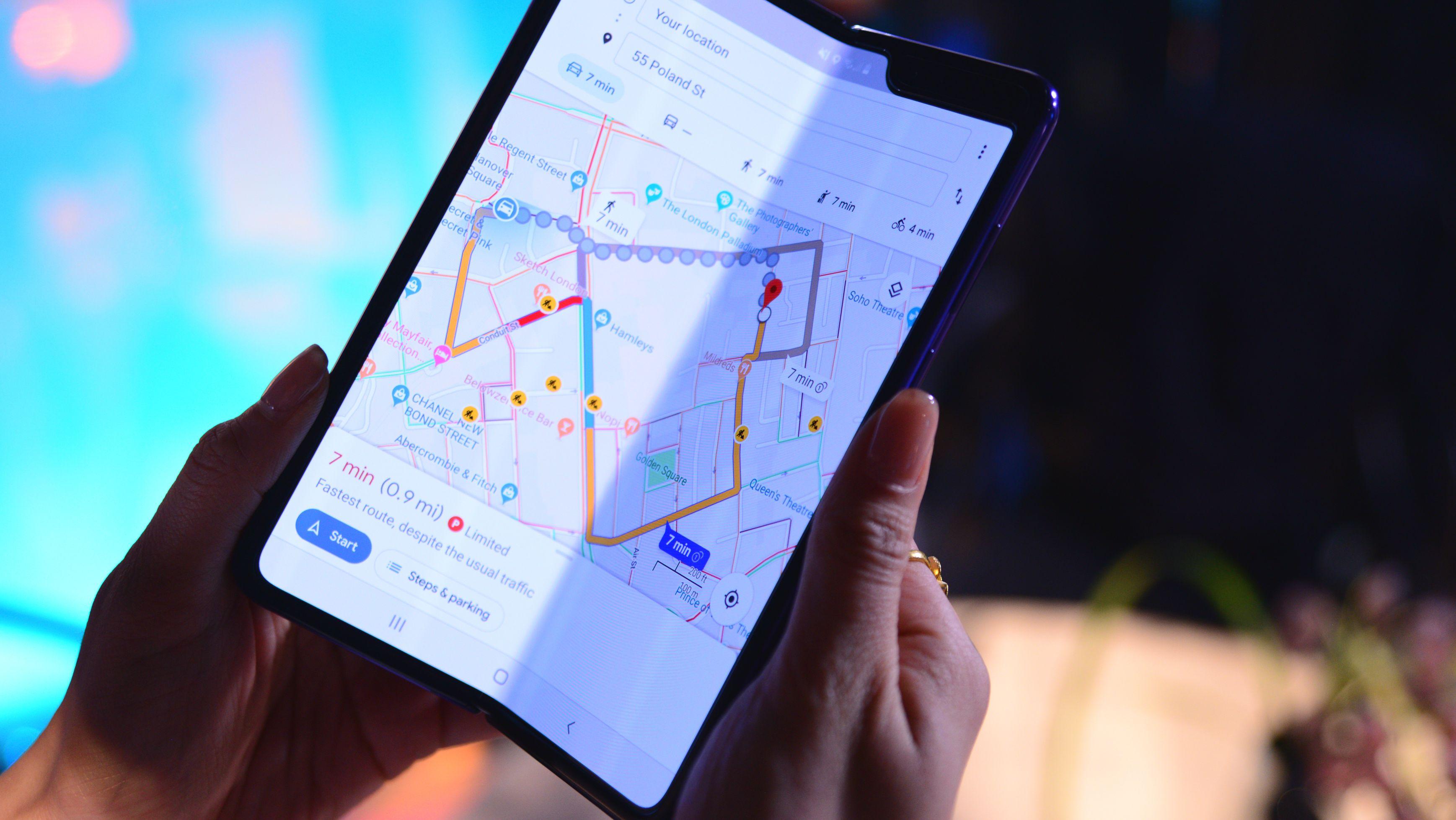 Samsung hat sein Galaxy Fold Smartphone zwar im Herbst vorgestellt, auf dem Markt ist allerdings bisher immer noch nicht