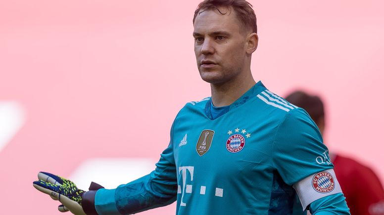FC-Bayern-Kapitän Manuel Neuer   Bild:picture-alliance/dpa