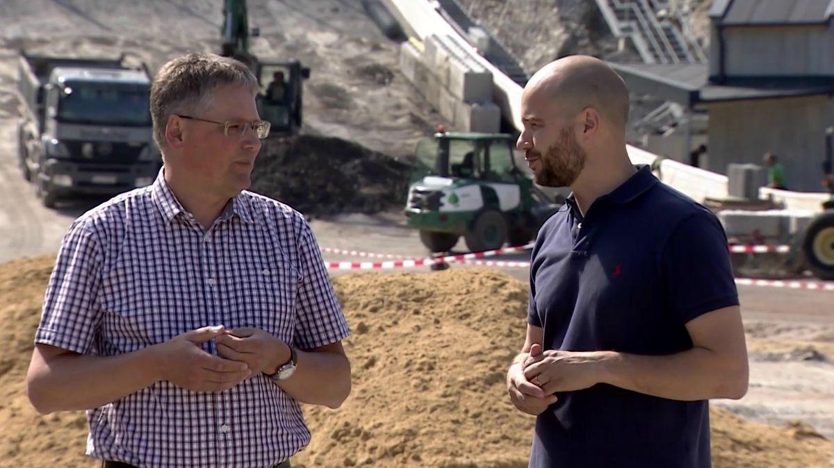 Projektleiter Florian Speigl und Geschäftsführer Moritz Beckers-Schwarz