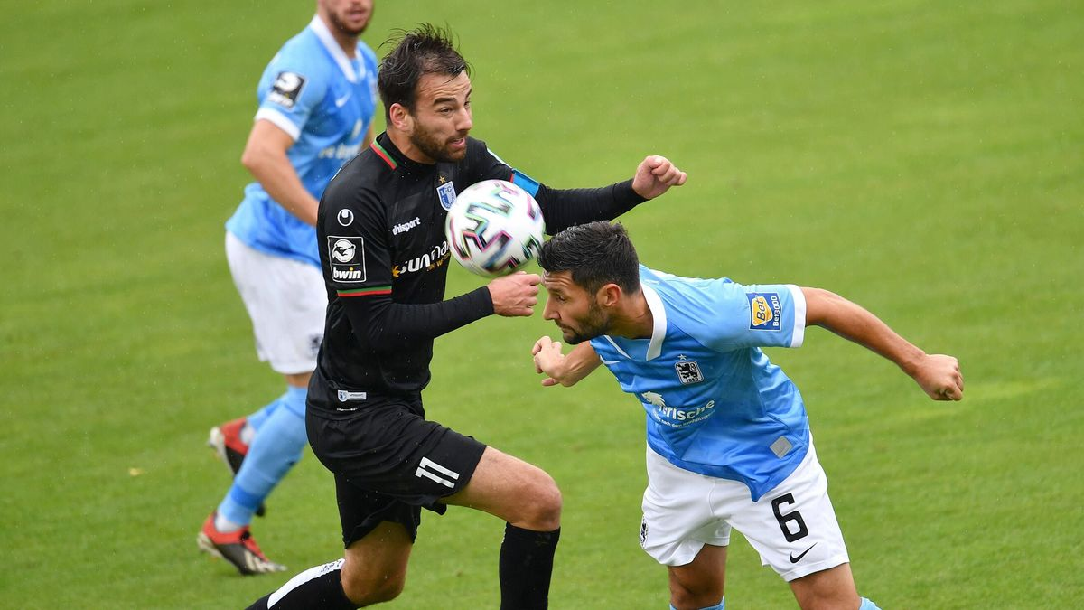 Spielszene TSV 1860 München - 1. FC Magdeburg