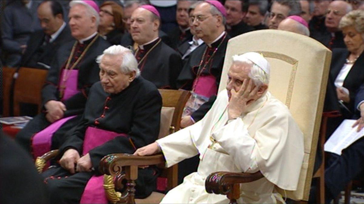 Der Bruder von Papst Benedikt, Georg Ratzinger, ist im Alter von 96 Jahren gestorben