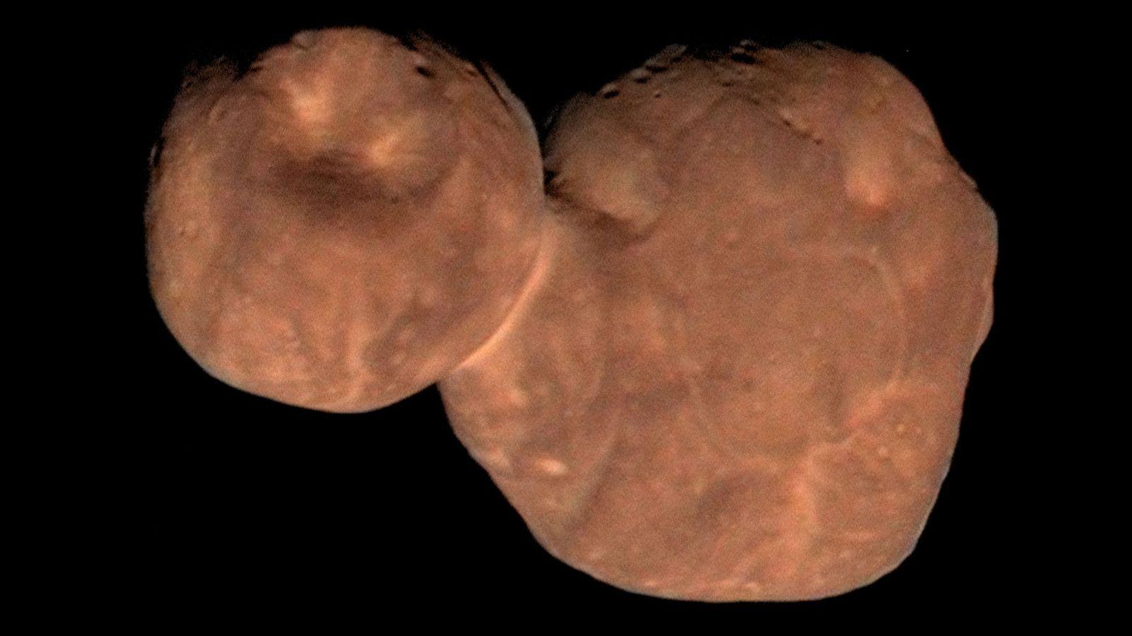 Asteroid Arrokoth - das Fossil im Geröllfeld des Sonnensystems