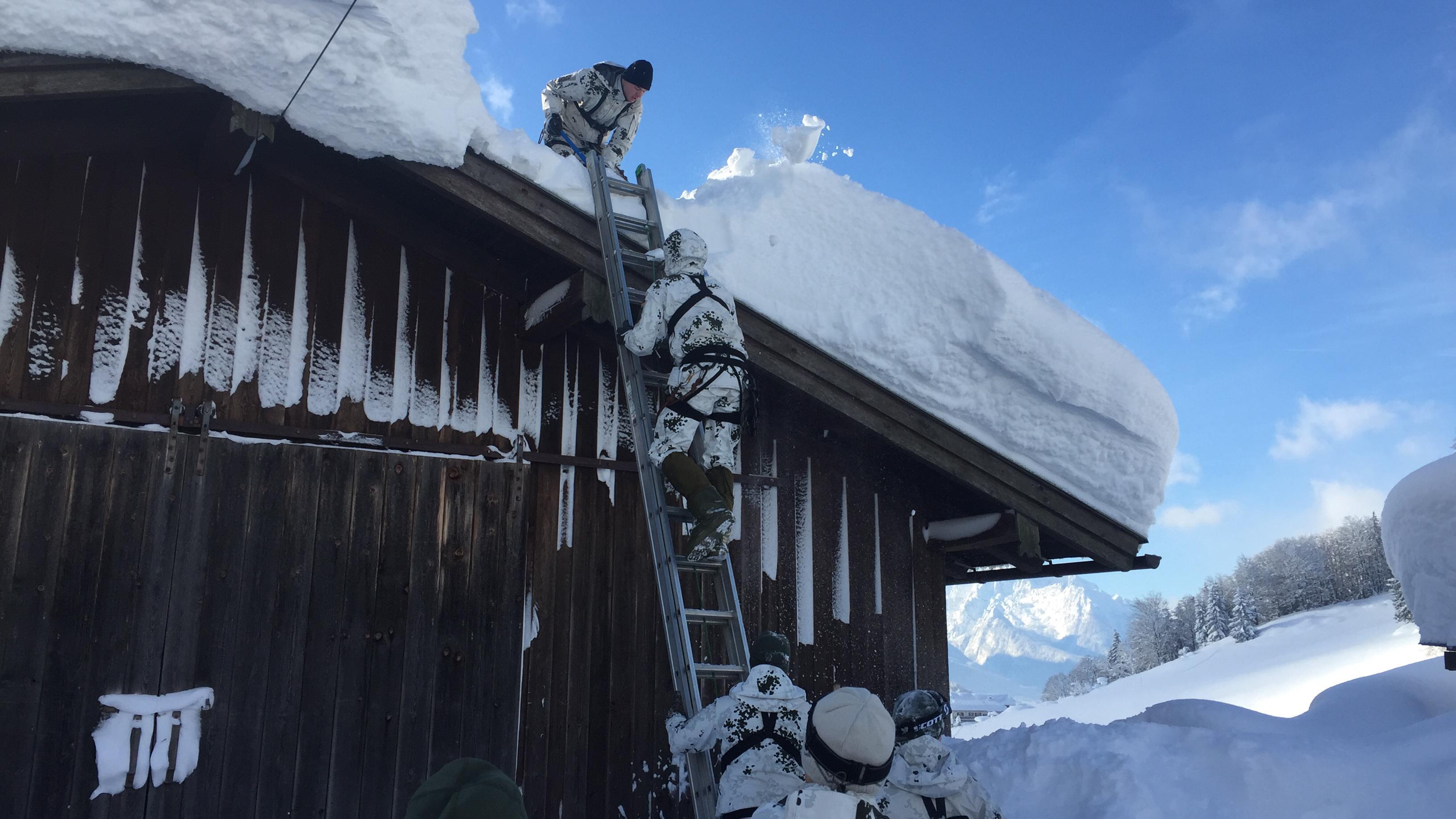 Bundeswehr-Einsatz in Berchtesgaden