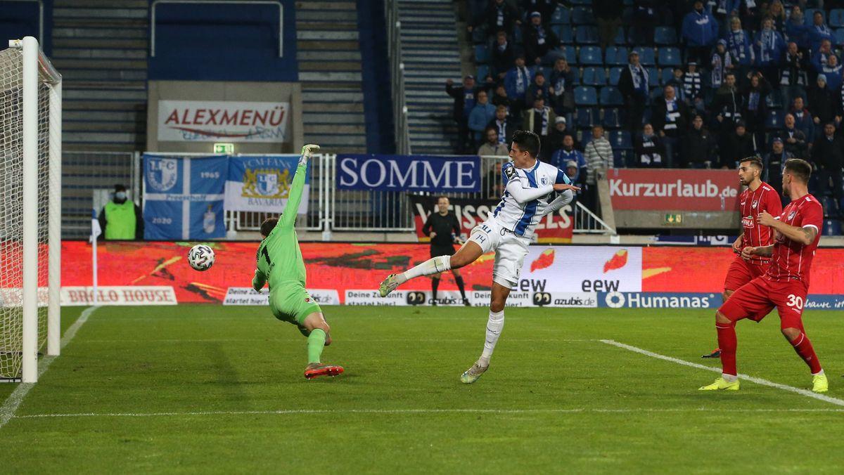 Das 1:0 von Magdeburg gegen Türkgücü München