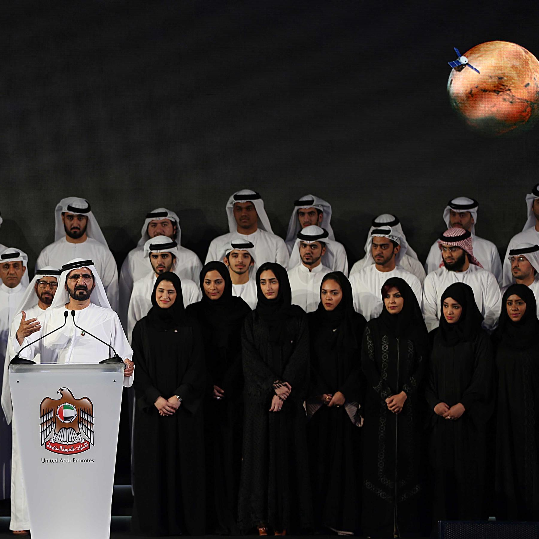 Arabische Marsmission - Emirate schicken Raumsonde zum roten Planeten