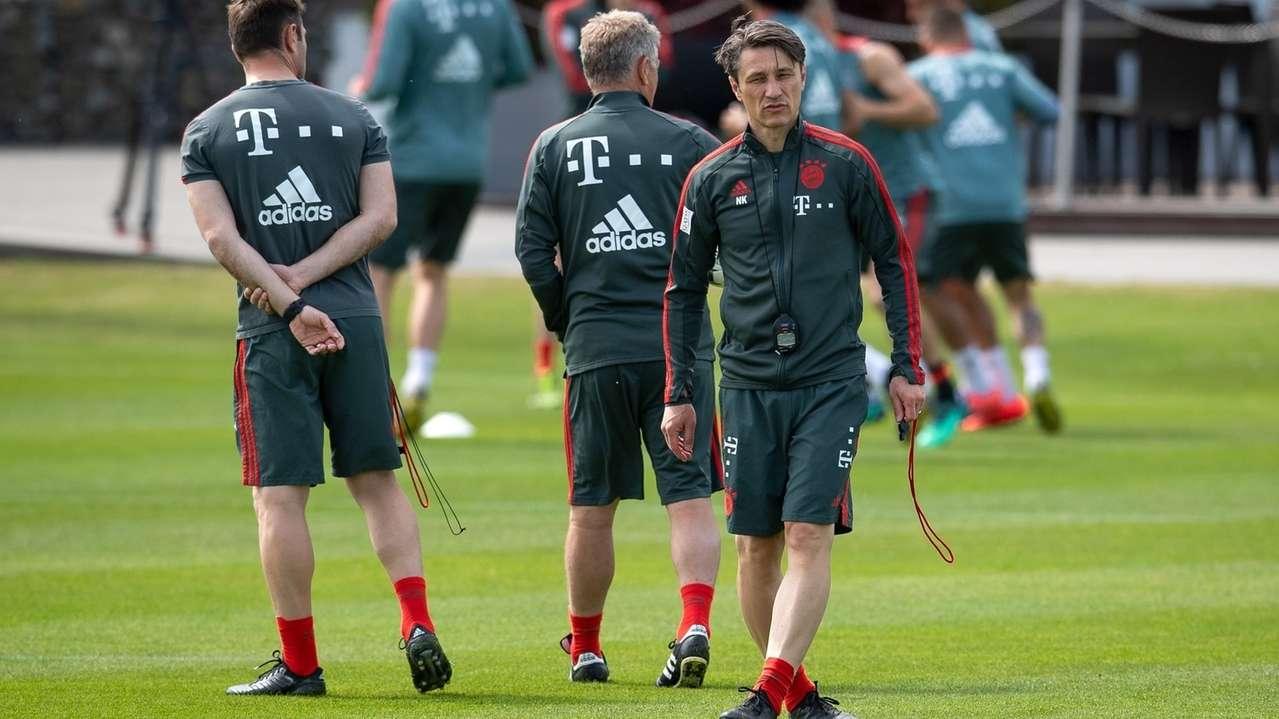 Fußball: FC Bayern München - Öffentliches Training