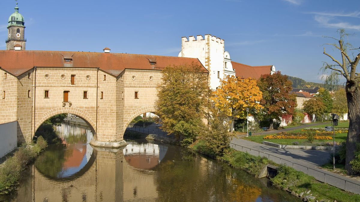 Die Vils in Amberg
