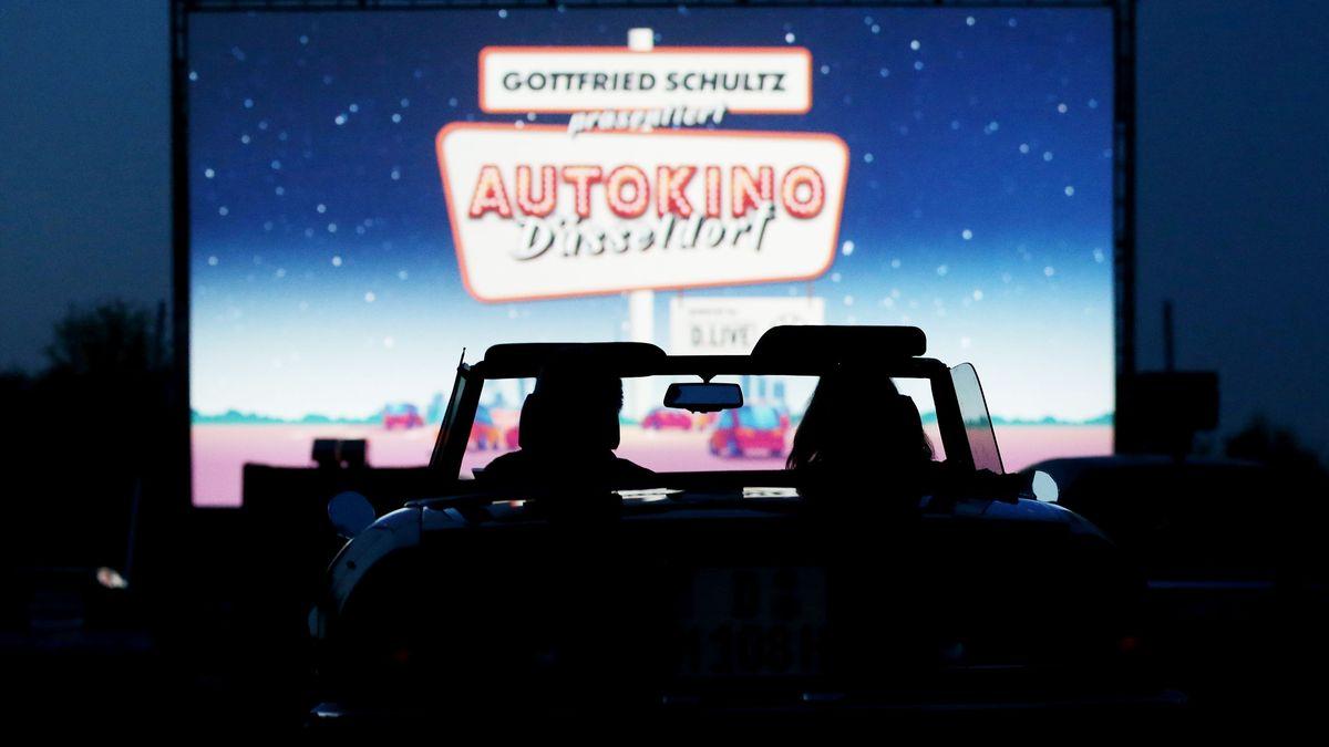 Autokino in Düsseldorf