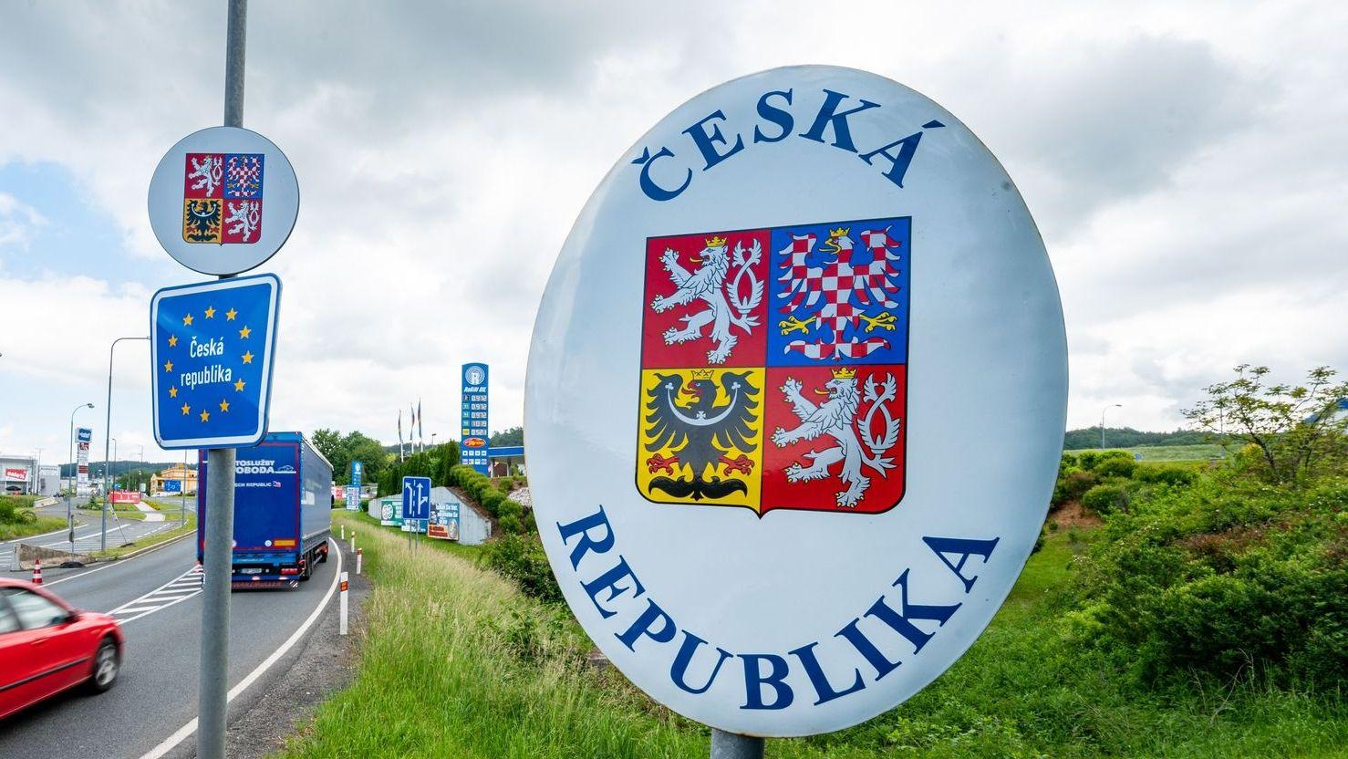 Bild von deutsch-tschechischer Grenze