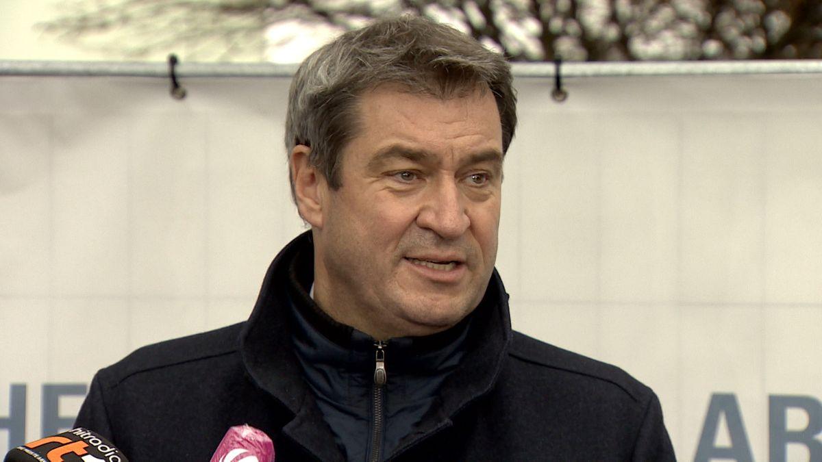 Bayerns Ministerpräsident Söder hat sich bei der bayerischen Bevölkerung für ihr Mitmachen bei den Corona-Maßnahmen bedankt.