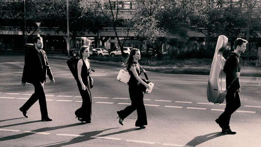 Das Armida Quartett im klassischen Konzertrdess