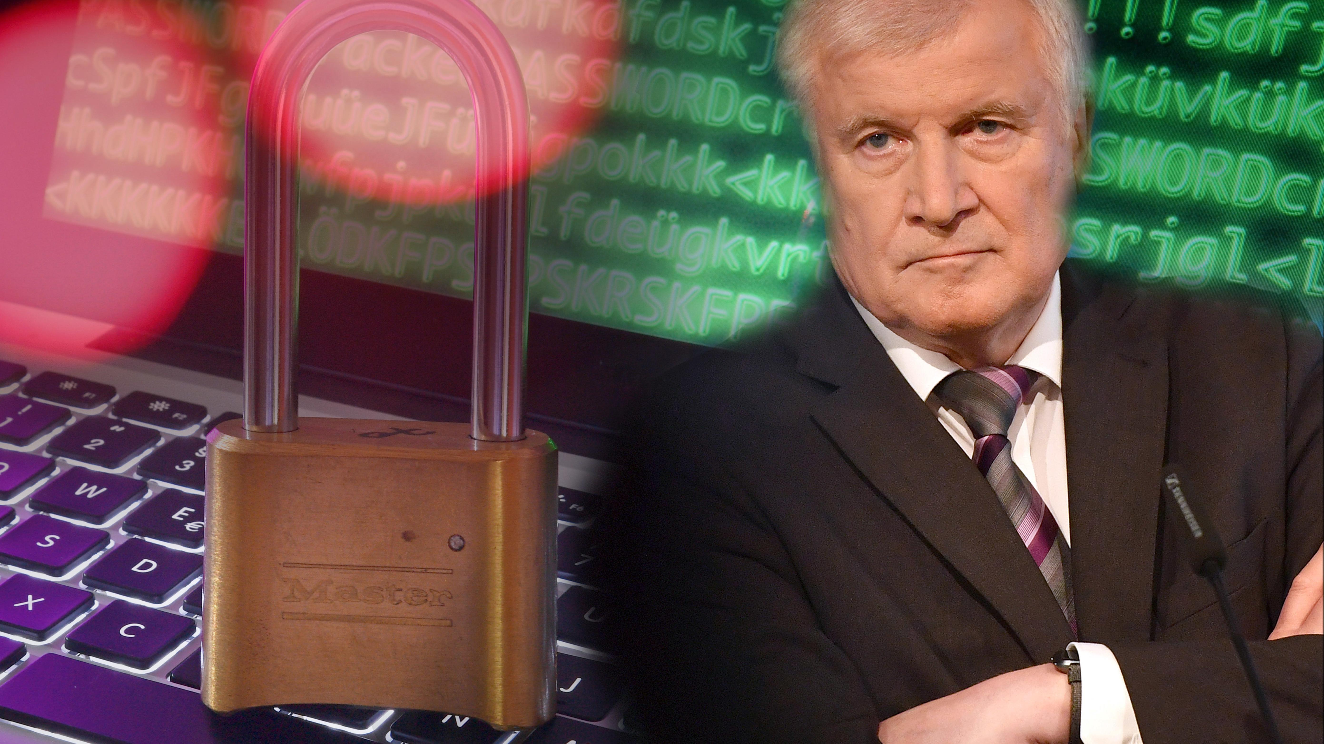 Seehofer will mehr Netzsicherheit