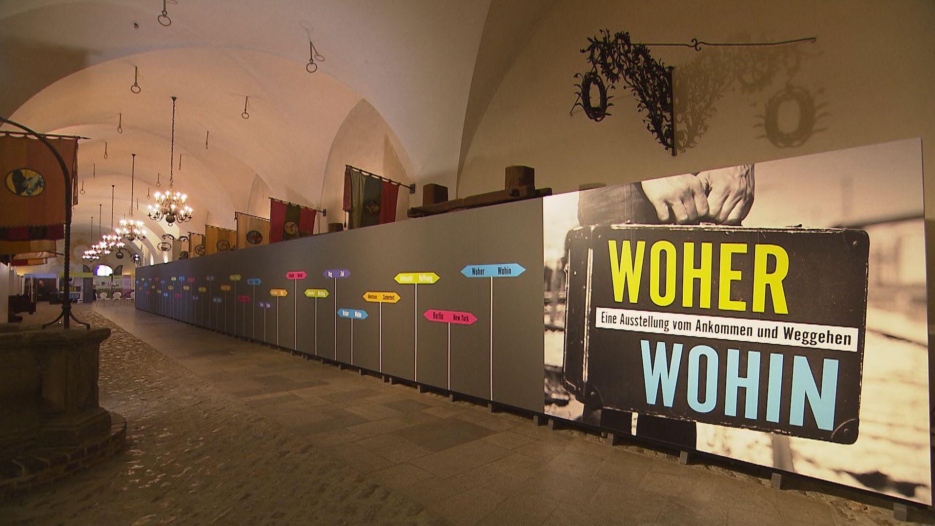 Museum für Franken: Weggehen und Ankommen