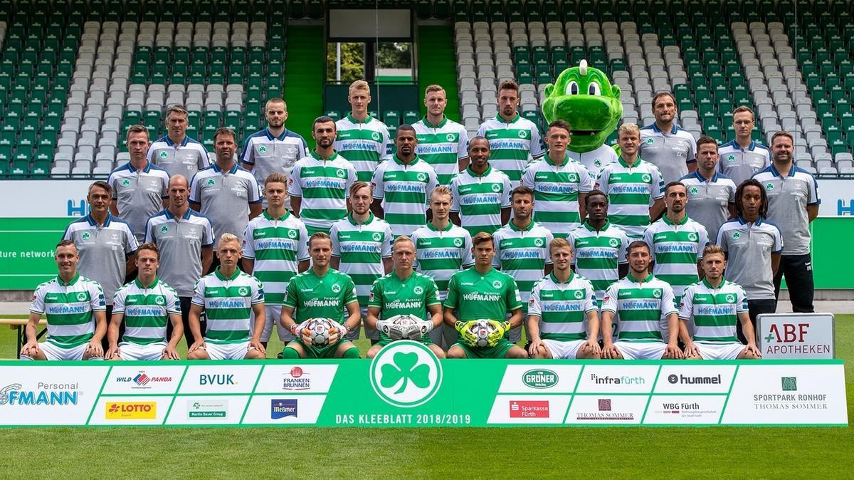 SpVgg Greuther Fürth - Mannschaftsfoto vor der Saison 2018/19
