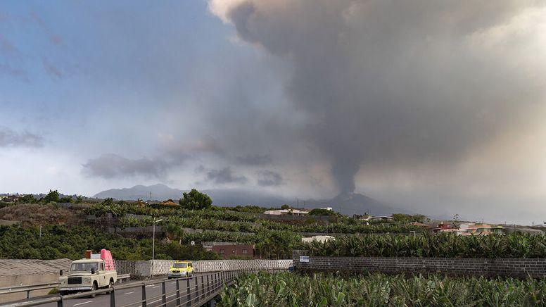 Vulkanausbruch auf La Palma 2021   Bild:dpa Bildfunk
