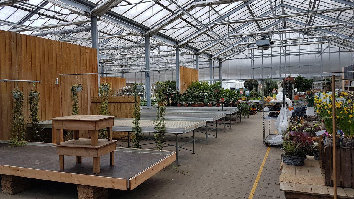 Das Gartencenter Wörner in Neusäß bei Augsburg