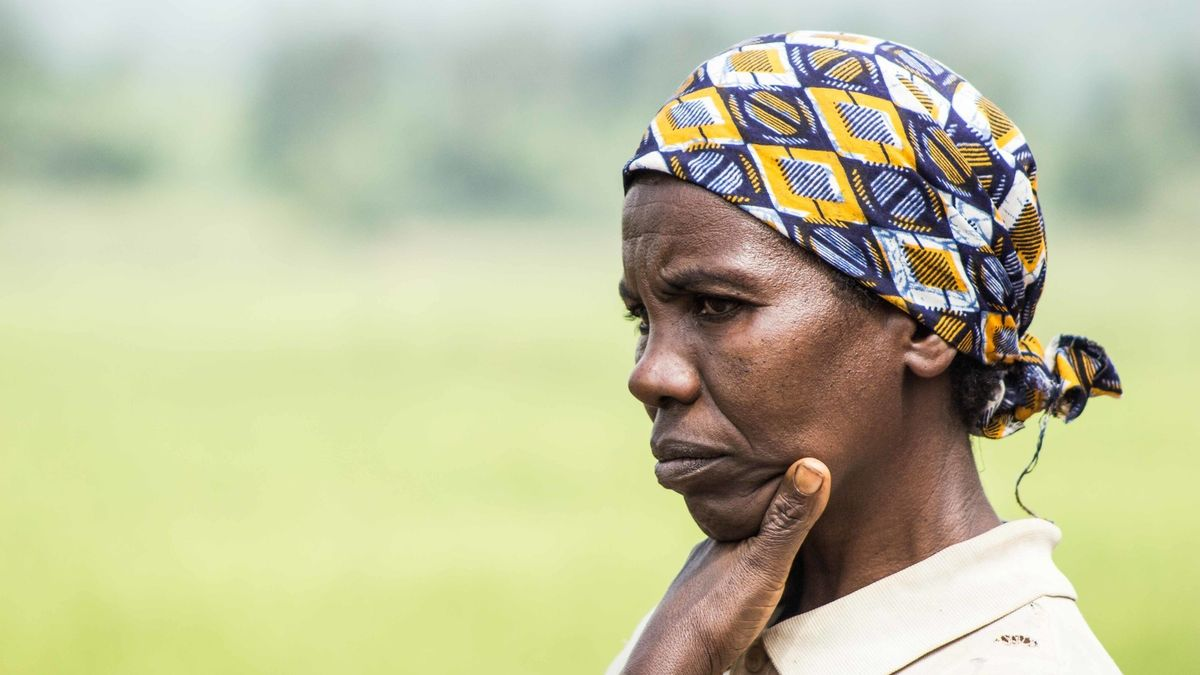 Frau aus Burundi