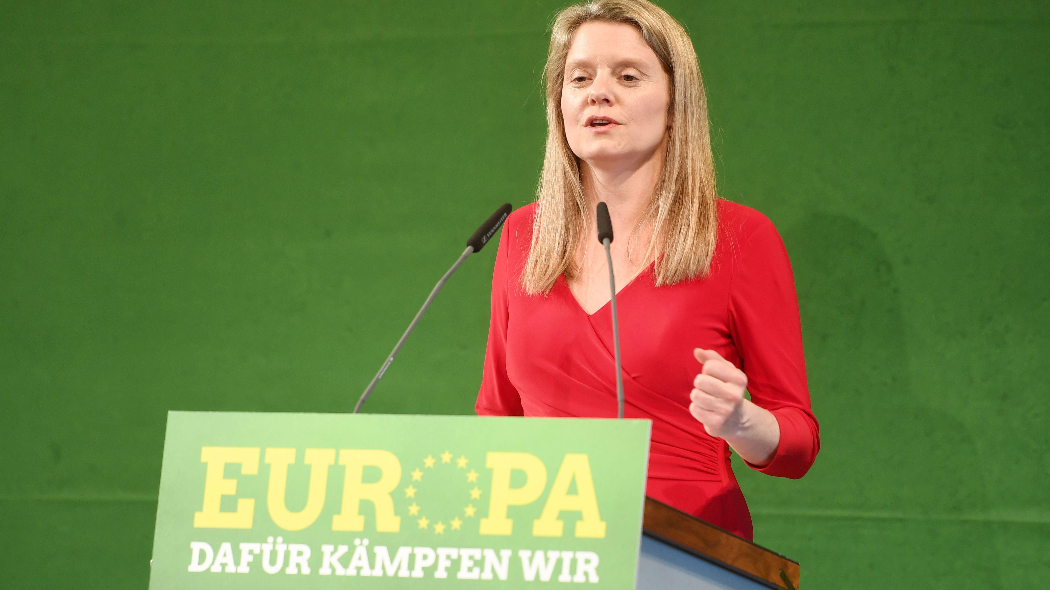 Henrike Hahn, bayerische Spitzenkandidatin zur Europawahl von Bündnis 90/Die Grünen