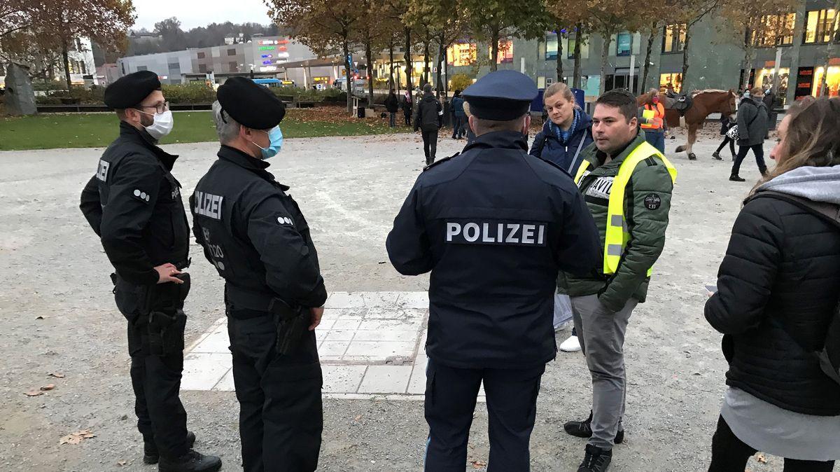 Die Polizei kontrollierte am Passauer Klostergarten