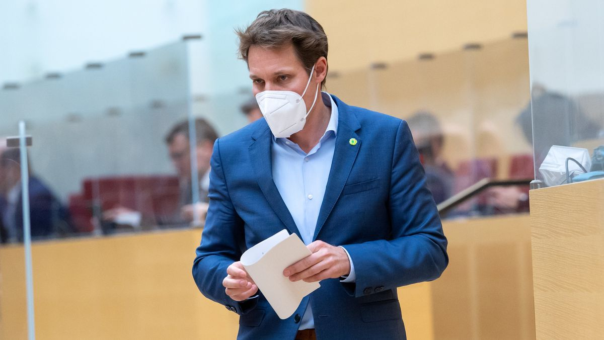 Ludwig Hartmann, Fraktionsvorsitzender von Bündnis 90/Die Grünen im bayerischen Landtag